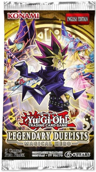 YGO: Legendary Duelists: Magical Hero booster