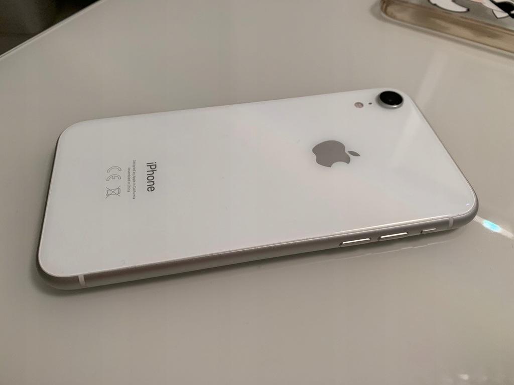 Apple iPhone XR 364GB.Biały.Gwarancja MediaMarkt