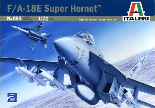 ITALERI Model plastikowy F/A-18E Super Hornet