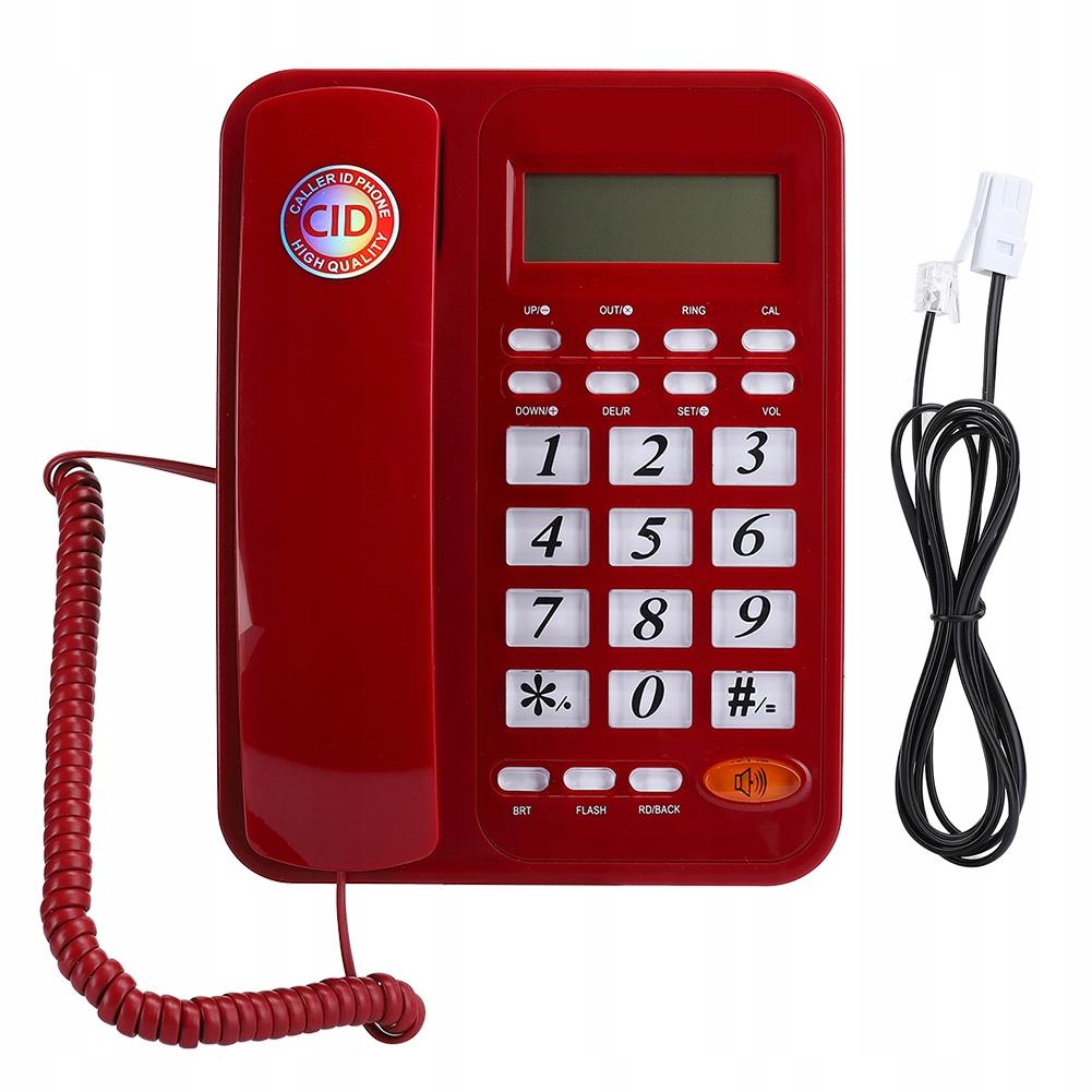 Telefon przewodowy telefon przewodowy przenośny