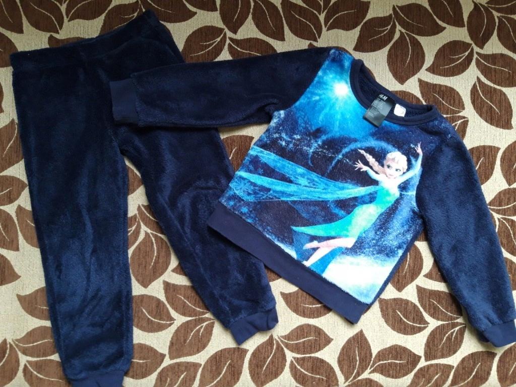 Ciepły dres Frozen dla dziewczynki 98cm