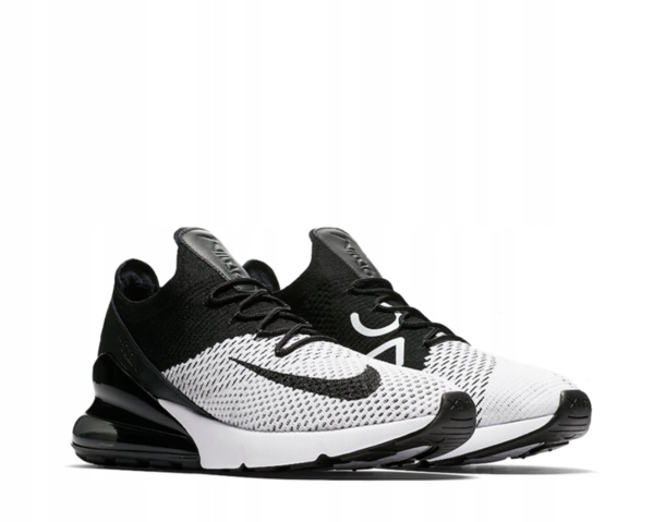 Nike Air Max 270 Flyknit Trainers AO1023 601 | Red, Black