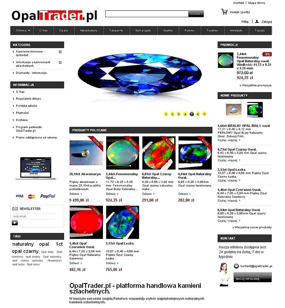 DOMENA OpalTrader.pl +BIZNES +TOWAR w cenie zakupu