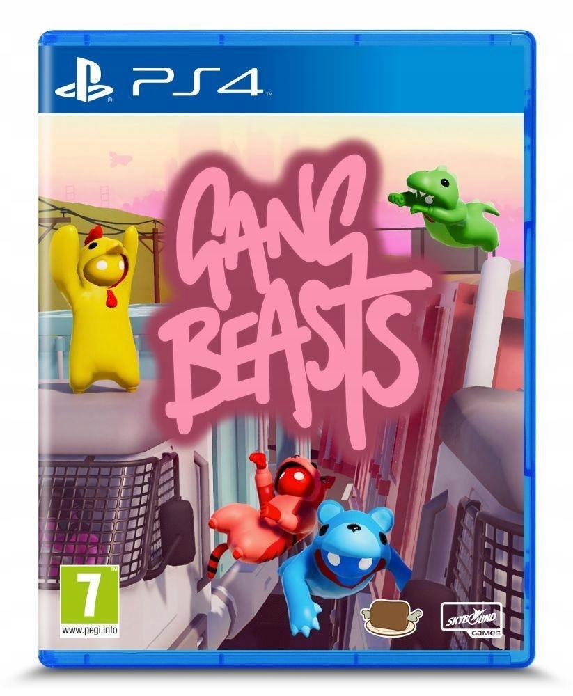 Gra Gang Beasts (PS4)