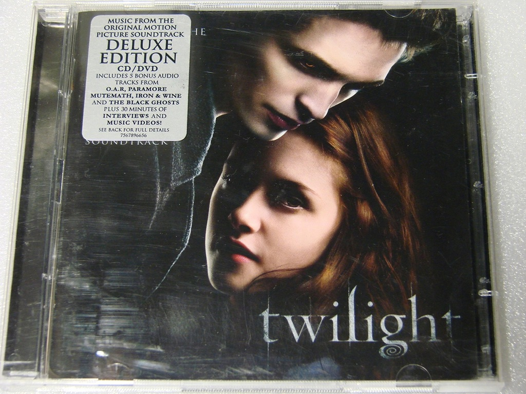 Twilight - Soundtrack CD+DVD BDB