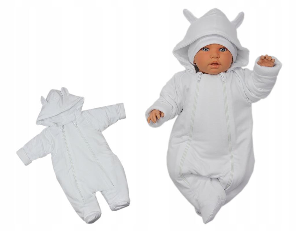 Kombinezon niemowlęcy wiosenno-jesienny 80 chrzest