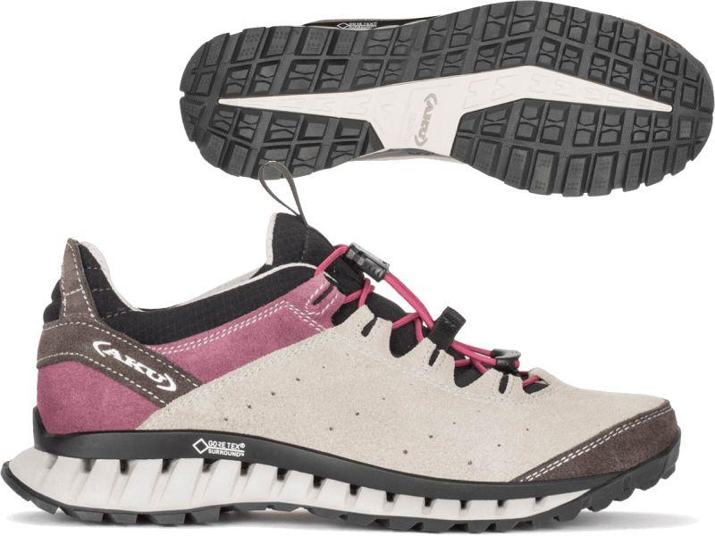 Buty trekkingowe damskie Climatica Suede GTX Aku (beżowo różowe)
