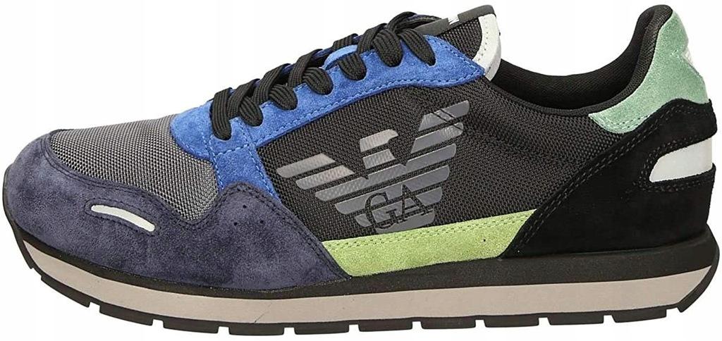 EMPORIO ARMANI markowe włoskie sneakersy buty 41