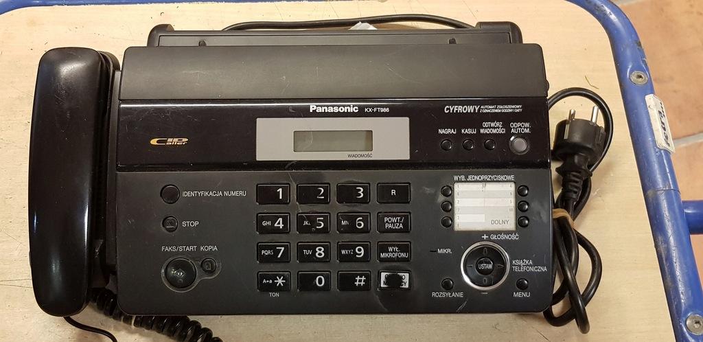 Telefon fax Panasonic KX- FT936