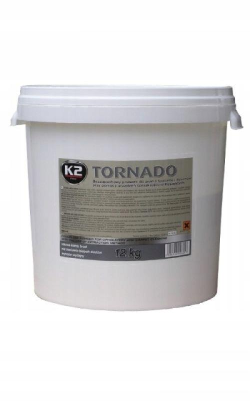 K2 TORNADO PLUS 12 KG Proszek do prania tapicerek