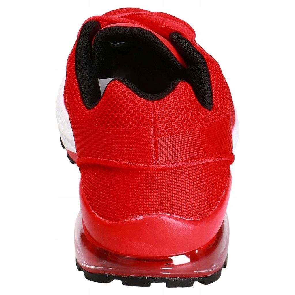 Buty sportowe męskie czerwień H19 4