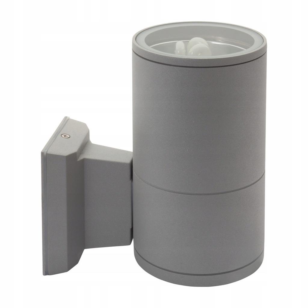Oprawa elewacyjna tuba szara Kanlux BART EL-160