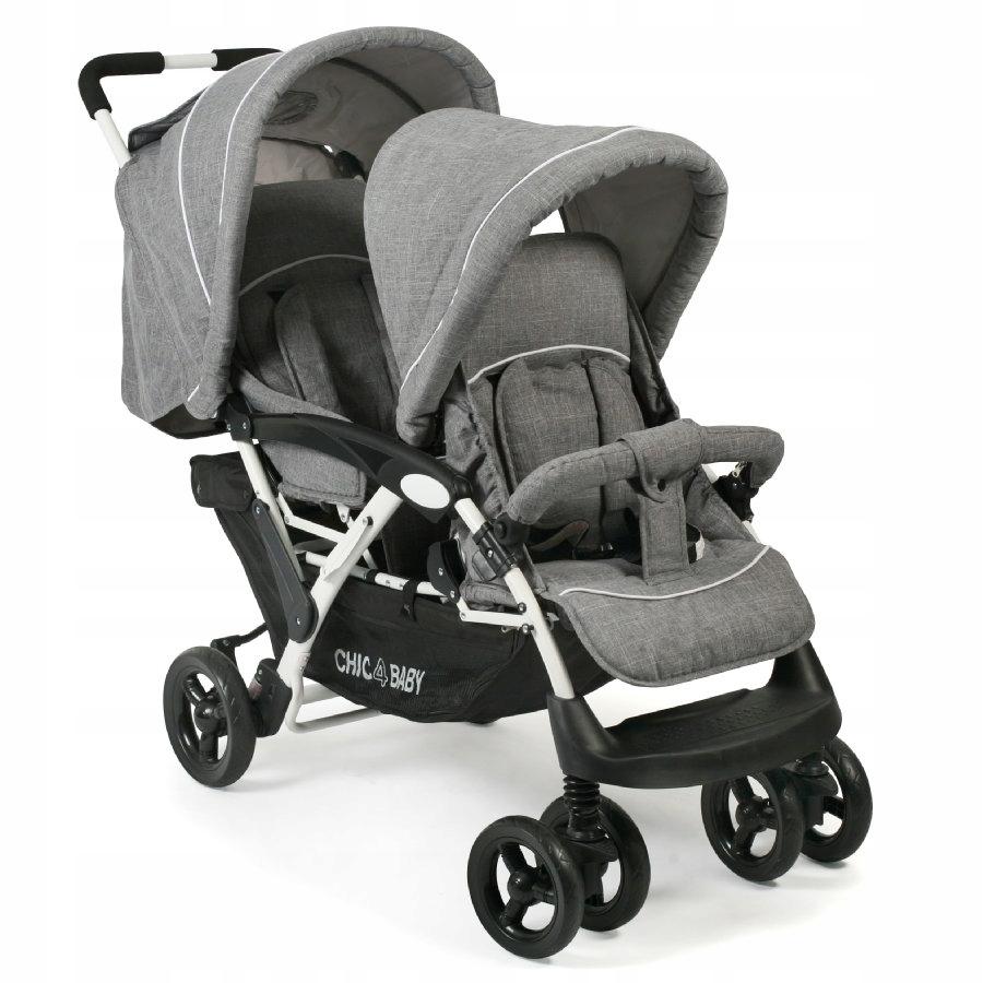 Wózek dla rodzeństwa CHIC 4 BABY DUO