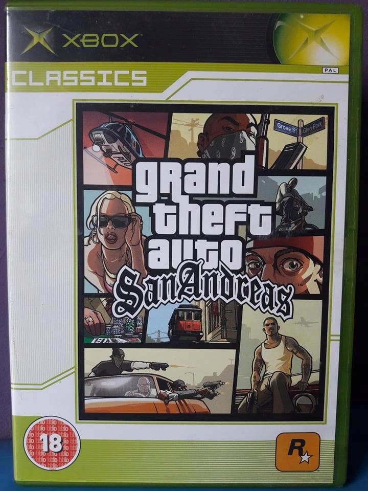 Gta San Andreas Xbox Classics 7828269761 Oficjalne Archiwum Allegro