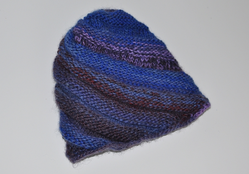 Nowa czapeczka tęczowa HANDMADE made in poland