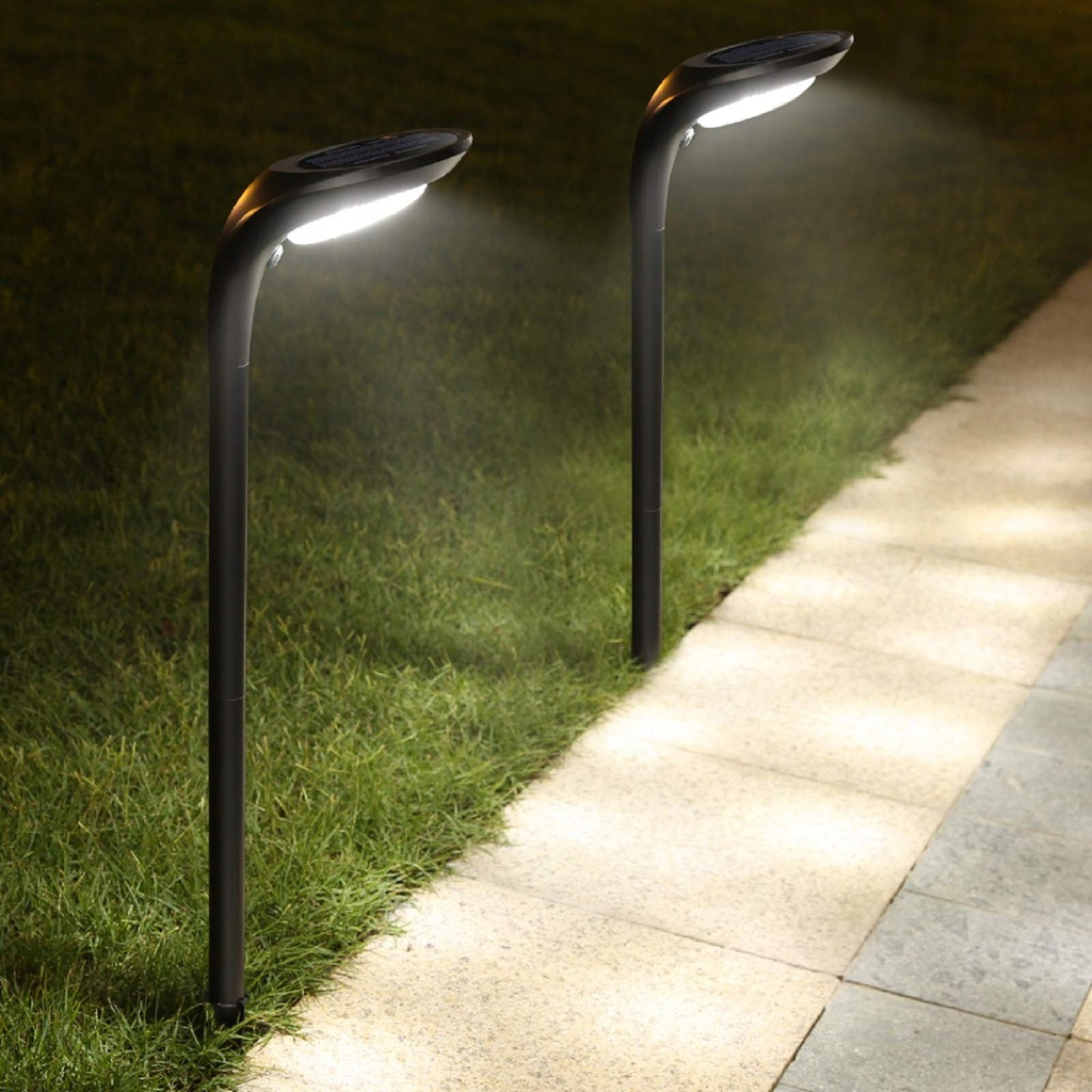 Oświetlenie ogrodowe JSOT solarne 12 LED