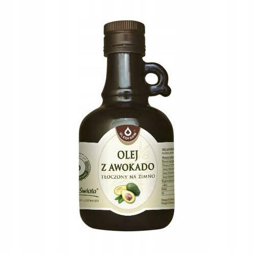 Olej z awokado Oleofarm 0,25 l tłoczony na zimno