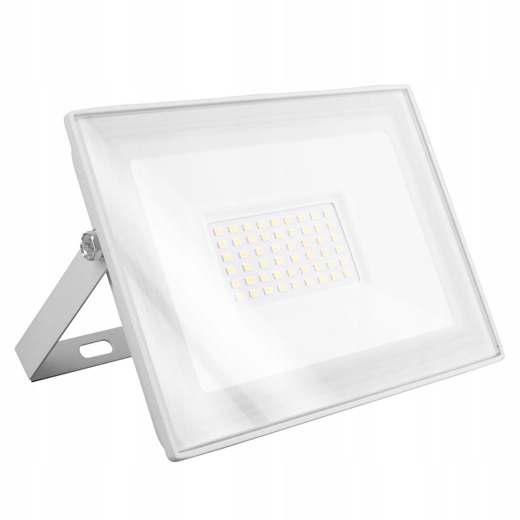 Naświetlacz LED SLIM 50W halogen lampa biała
