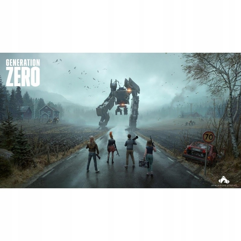 Generation Zero + all DLC STEAM Automat 24/7