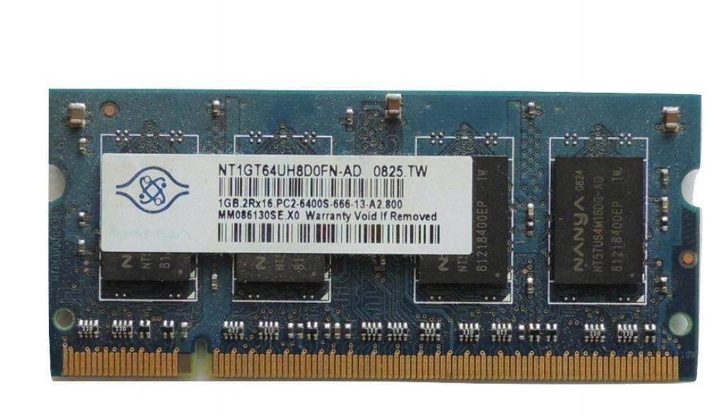 Ram DDR2 2Rx16 PC2-6400S NANYA