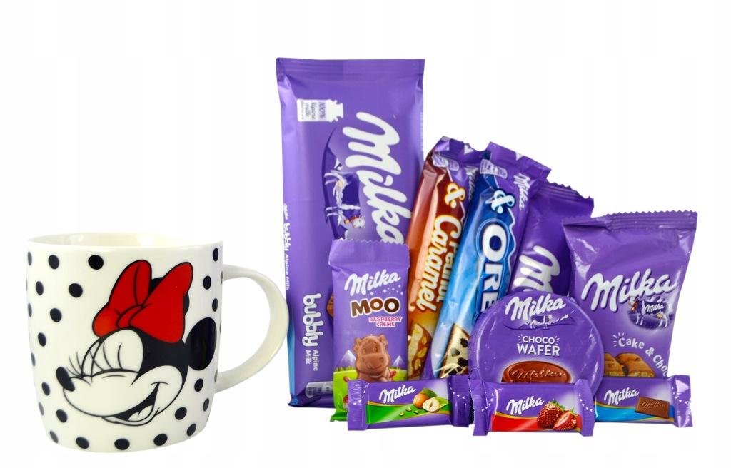 Zestaw Prezentowy Milka Kubek 320 ml Myszka Miki