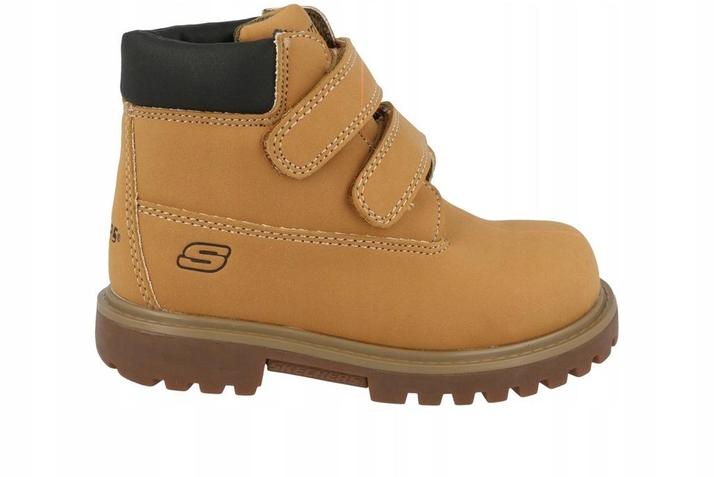 buty SKECHERS dziecięce zima MECCA 93162N WTN 21