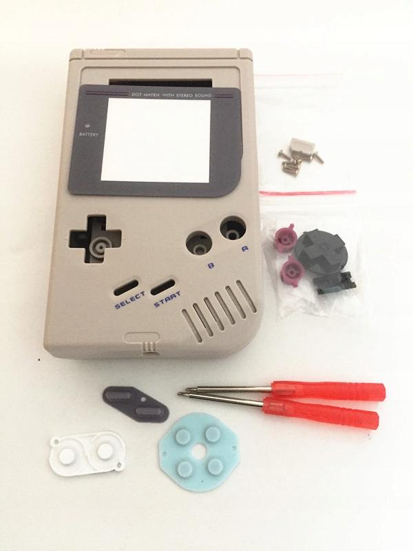 Zestaw zamienny Game Boy classic - obudowa, guziki