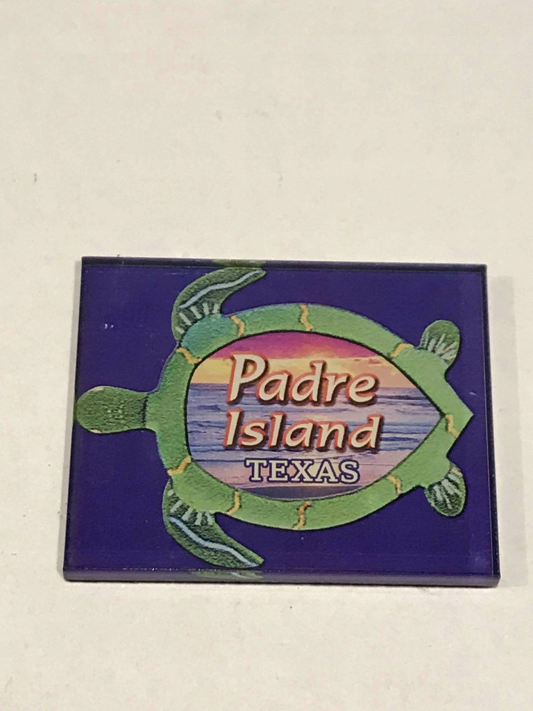 Magnes lodówkę magnez Texas Teksas Padre Island