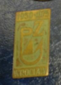 Odznaka wędkarska PZW Wrocław 1975