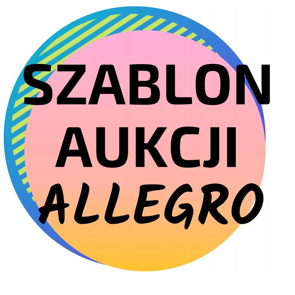 SZABLON AUKCJI ALLEGRO INDYWIDUALNY