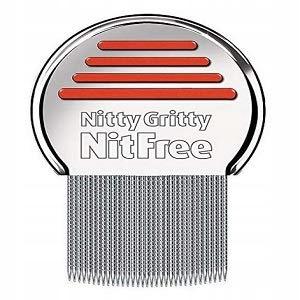 NITTY GRITTY NIT COMB GRZEBIEŃ NA WSZY I GNIDY