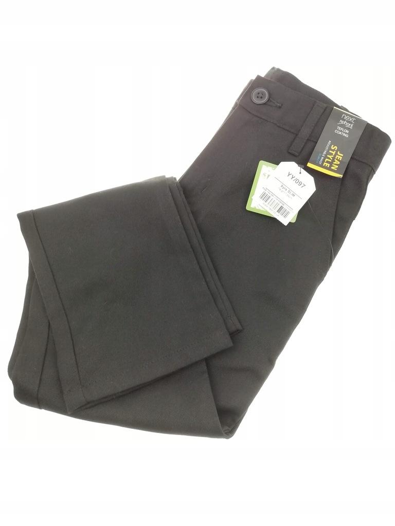 Szkolne lub jako eleganckie spodnie 134 Next nowe