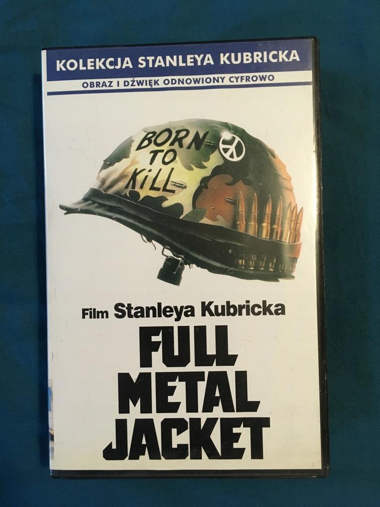 KUBRICKS - FULL METAL JACKET VHS kaseta