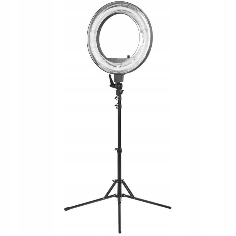 """Lampa pierścieniowa Ring Light 18"""" 55W czarna"""