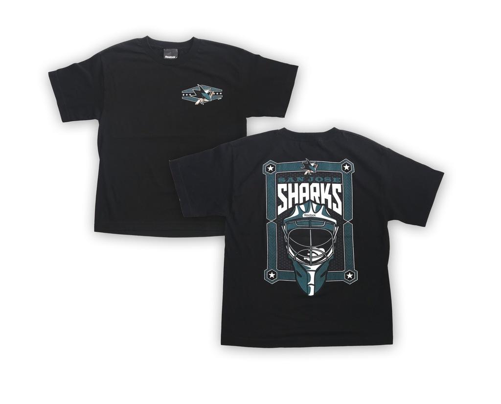 Koszulka T-Shirt Reebok NHL San Jose Sharks YTH L