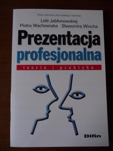 Prezentacja profesjonalna - teoria i praktyka