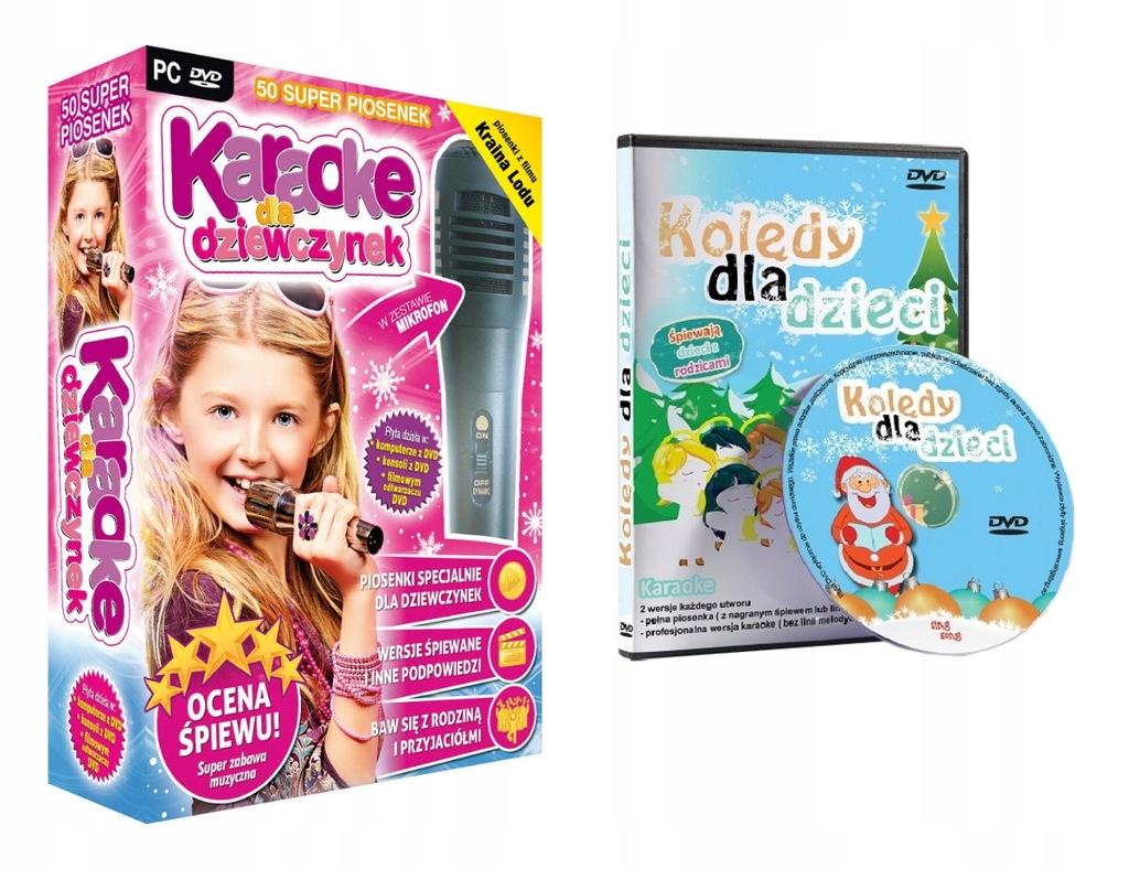 Karaoke Kraina Lodu Frozen + Kolędy Dla Dzieci