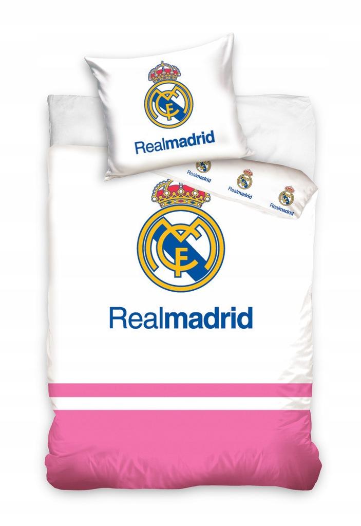 REAL MADRYT MADRID pościel 100x135 +40x60 LICENCJA