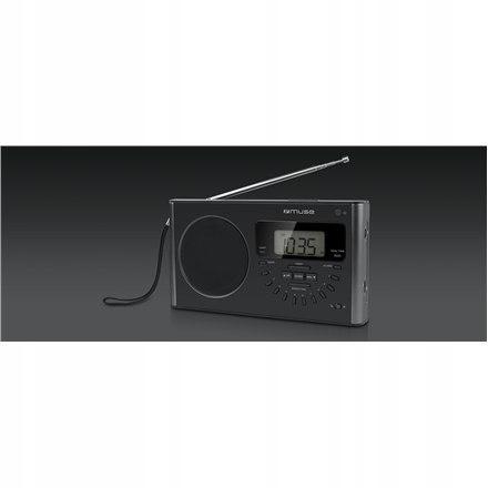 Muse M-089 R Black, Alarm function, 4-band PLL Por
