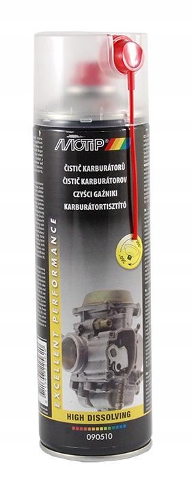 Preparat do przepustnic, gaźników MOTIP 090510