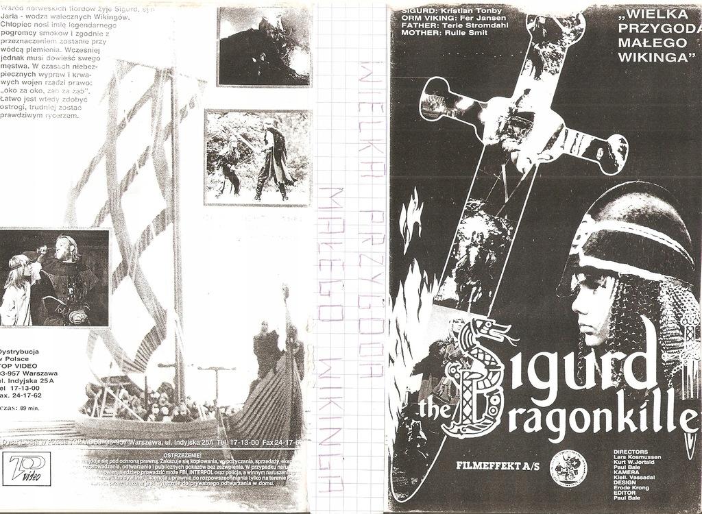 Sigurd Drakedreper - VHS