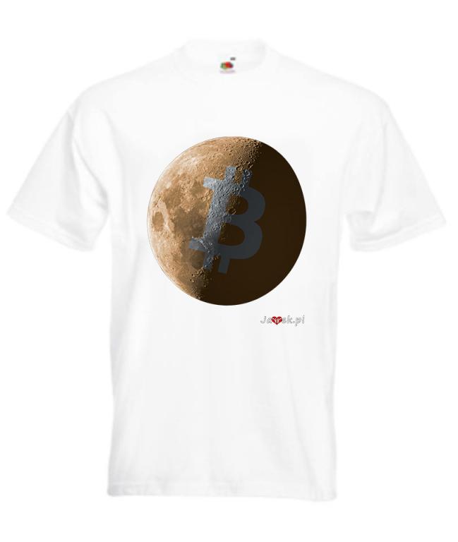 Koszulka  BITCOIN MOON (BTC)
