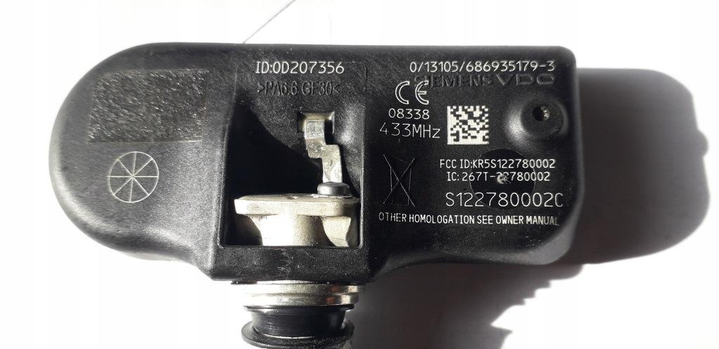 CZUJNIK CIŚNIENIA RDC ford volvo S122780002C