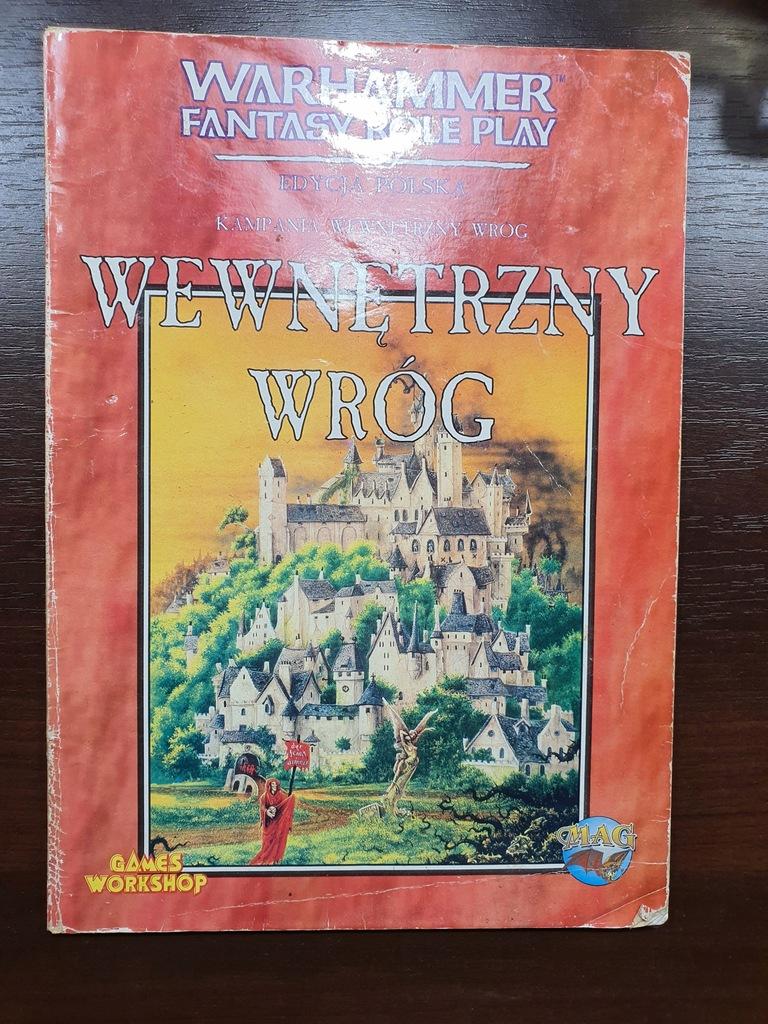 WEWNĘTRZNY WRÓG - Warhammer RPG - 1 ed.