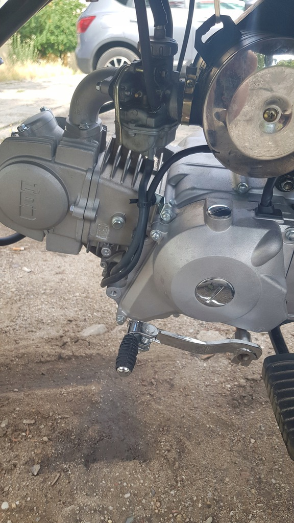 Silnik lifan 120cc MRF