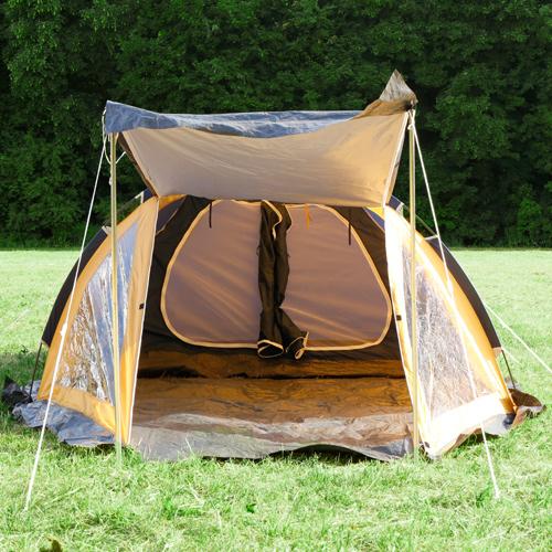 Namiot turystyczny traper 4 Osobowy 3000mm OKNA