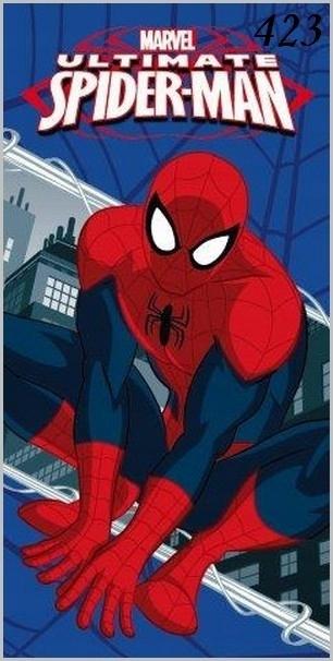 70x140 Ręcznik Kąpielowy Dziecięcy Spider Man