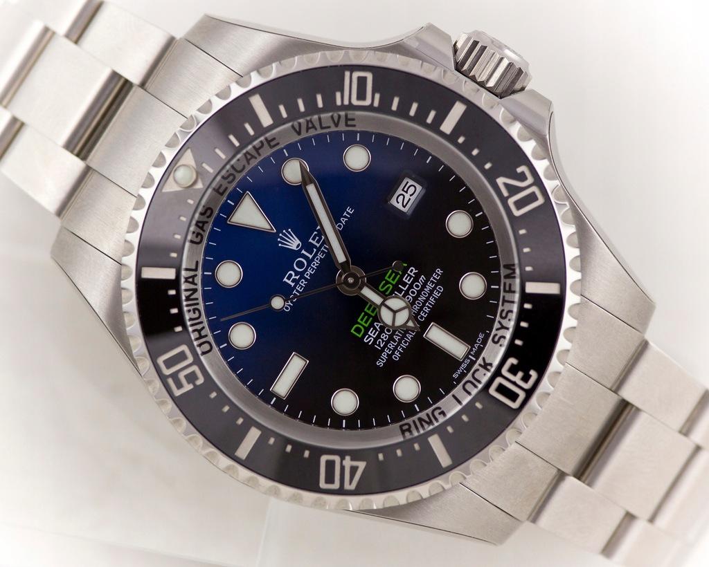 ROLEX SEA-DWELLER DEEPSEA D-BLUE 126660 KRUK FULL