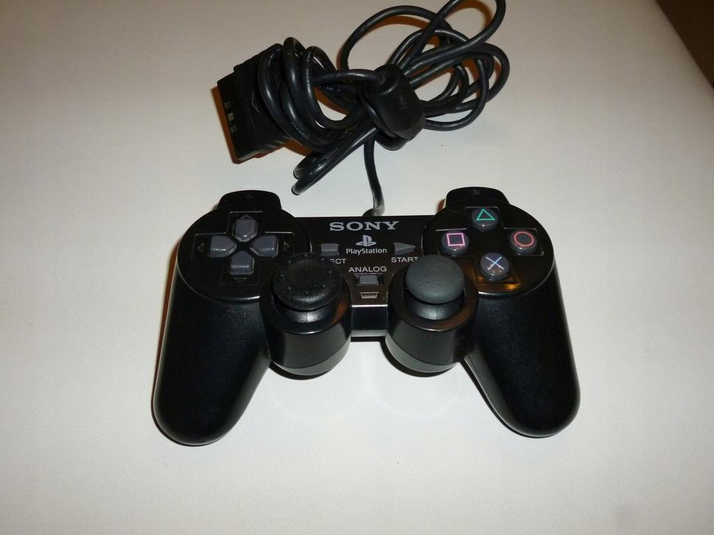 Pad do konsoli Sony PS2 DualShock 2 czarny sprawny