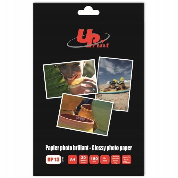 UPrint Fotograficzny papier biały A4 180 g 20 szt.